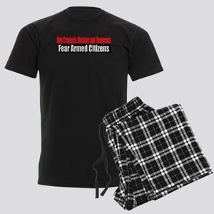 They Fear Armed Citizens Men's Dark Pajamas