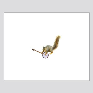 Squirrel with Banjo Small Poster