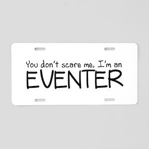 Eventing Aluminum License Plate