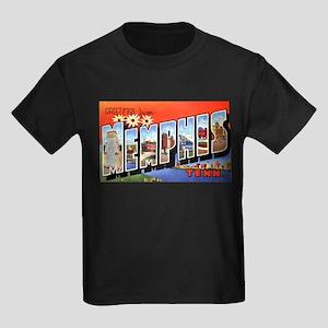 Memphis Tennessee Greetings Ash Grey T-Shirt