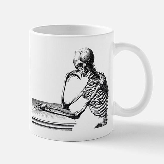Thinking Skeleton Mug