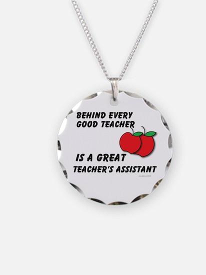 Great Teacher's Assistant Necklace