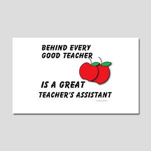 Great Teacher's Assistant Car Magnet 20 x 12