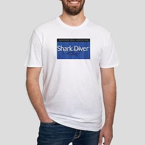 """Shark Diver """"Original"""" Logo Fitted T-Shirt"""