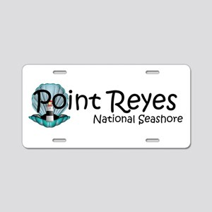 ABH Point Reyes Aluminum License Plate