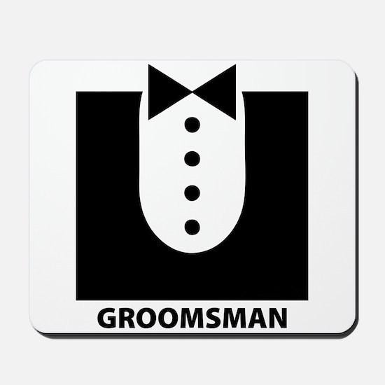 Groomsman Mousepad