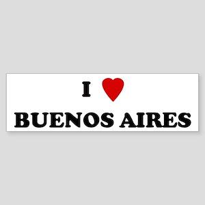 I Love Buenos Aires Bumper Sticker