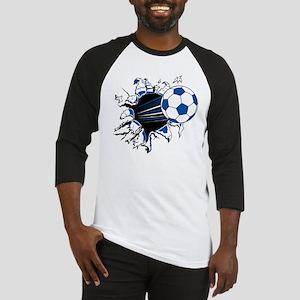 Soccer Ball Burst Baseball Jersey