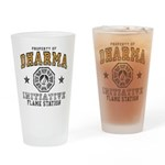 Dharma Flame Station Drinking Glass