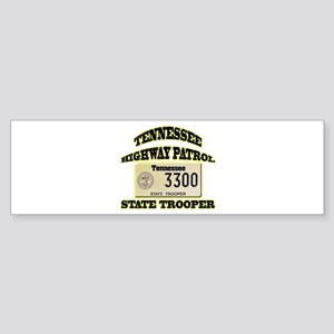 Tennessee Highway Patrol Sticker (Bumper)