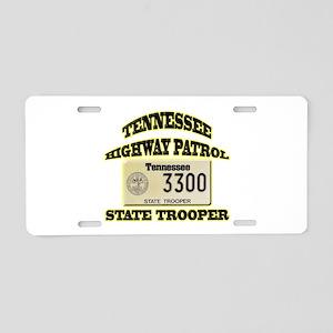 Tennessee Highway Patrol Aluminum License Plate