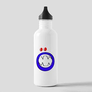 Blue Halloween Gooble Stainless Water Bottle 1.0L