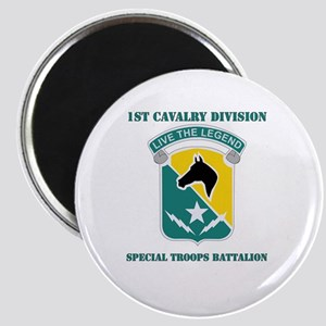 DUI - 1st Cav Div - Special Troops Bn with Text Ma