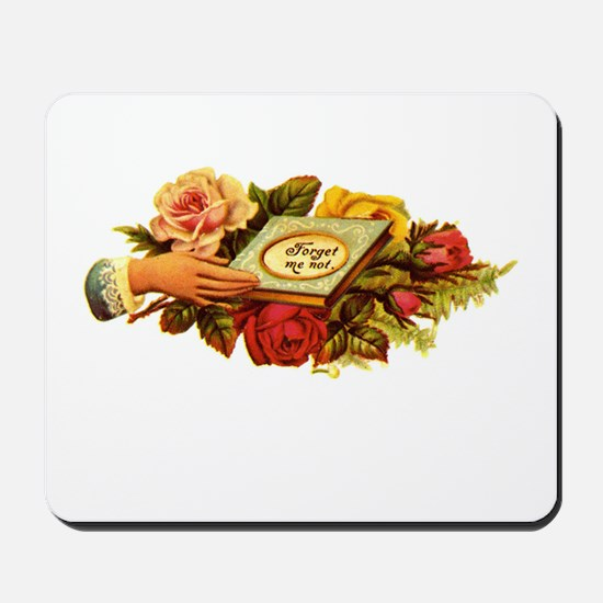 Victorian - Forget Me Not Mousepad
