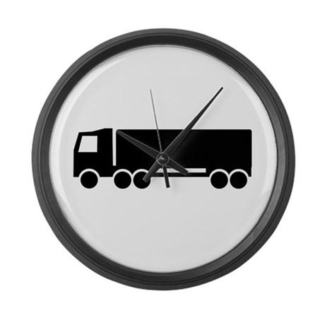 Truck Large Wall Clock