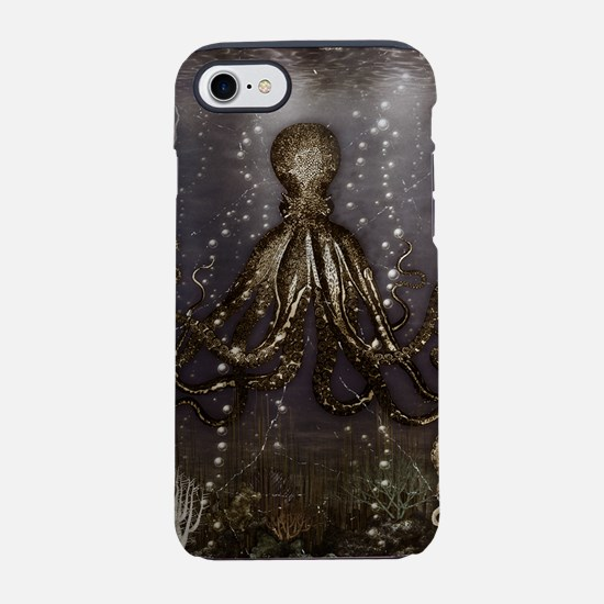 Octopus' lair - Old Photo iPhone 7 Tough Case