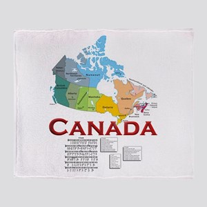 O Canada: Throw Blanket