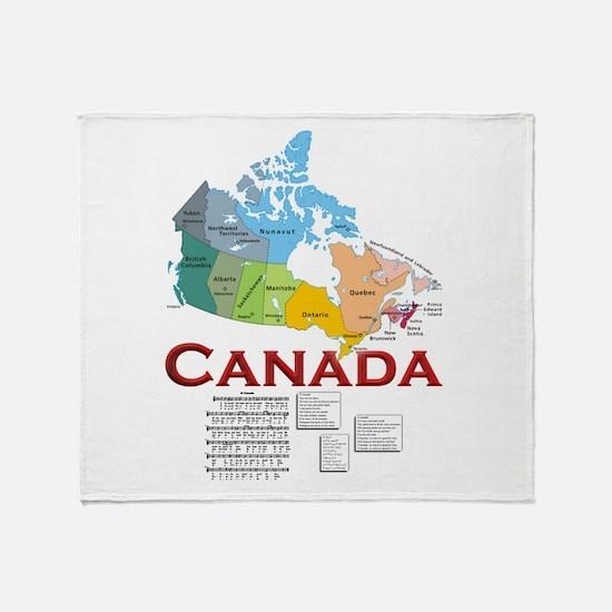 O Canada: Throw Blanket