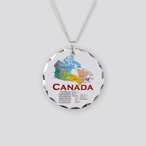 O Canada: Necklace Circle Charm