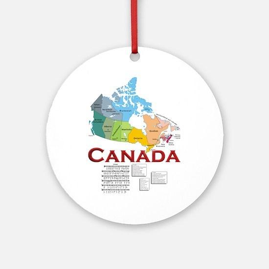 O Canada: Ornament (Round)