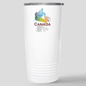 O Canada: Stainless Steel Travel Mug