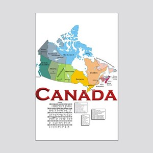 O Canada: Mini Poster Print