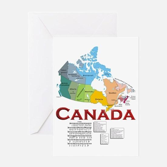O Canada: Greeting Card