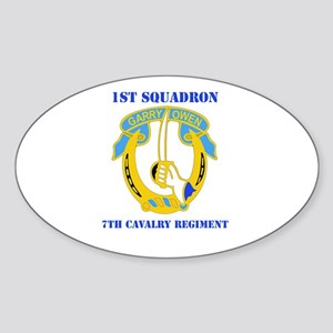 DUI - 1st Sqdrn - 7th Cavalry Regt with Text Stick