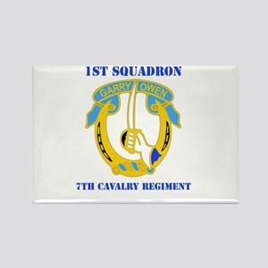 DUI - 1st Sqdrn - 7th Cavalry Regt with Text Recta