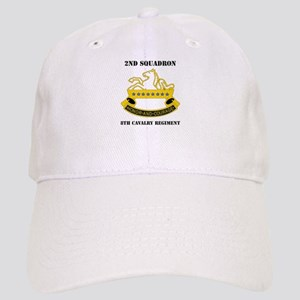 DUI - 2nd Sqdrn - 8th Cavalry Regt with Text Cap
