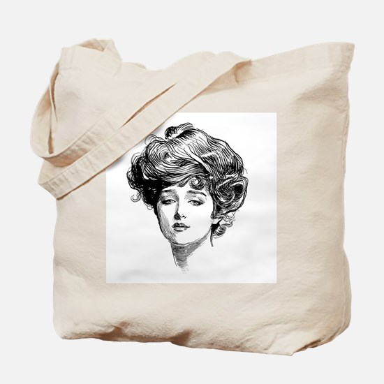 Gibson Girl Tote Bag