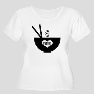 ramen Women's Plus Size Scoop Neck T-Shirt
