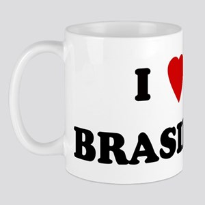 I Love Brasilia Mug