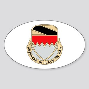 DUI - 115th Bde - Support Bn Sticker (Oval)