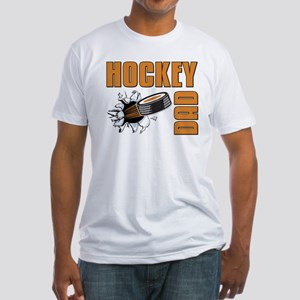 Hockey Dad Fitted T-Shirt