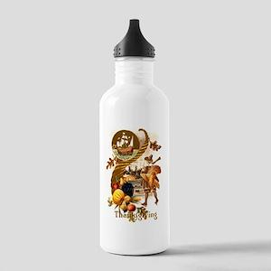 Autumn Harvest Stainless Water Bottle 1.0L