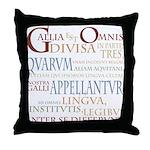 Gallia (ancient colors) Throw Pillow
