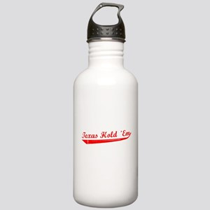 Texas Hold 'Em Stainless Water Bottle 1.0L