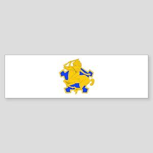 DUI - 4th Sqdrn - 9th Cavalry Regt Sticker (Bumper