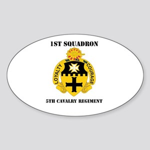 DUI - 1st Sqdrn - 5th Cavalry Regt with Text Stick