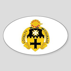DUI - 1st Sqdrn - 5th Cavalry Regt Sticker (Oval)