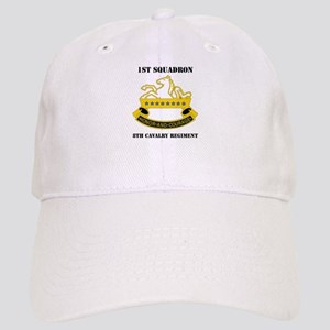 DUI -1st Sqdrn - 8th Cavalry Regt with Text Cap