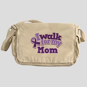 Alzheimers Walk For Mom Messenger Bag