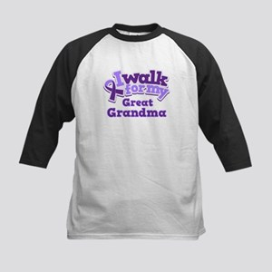 Alzheimers Walk For Great Grandma Kids Baseball Je