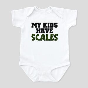 'My Kids Have Scales' Infant Bodysuit