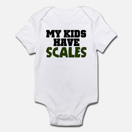 'My Kids Have Scales' Infant Bodysuit