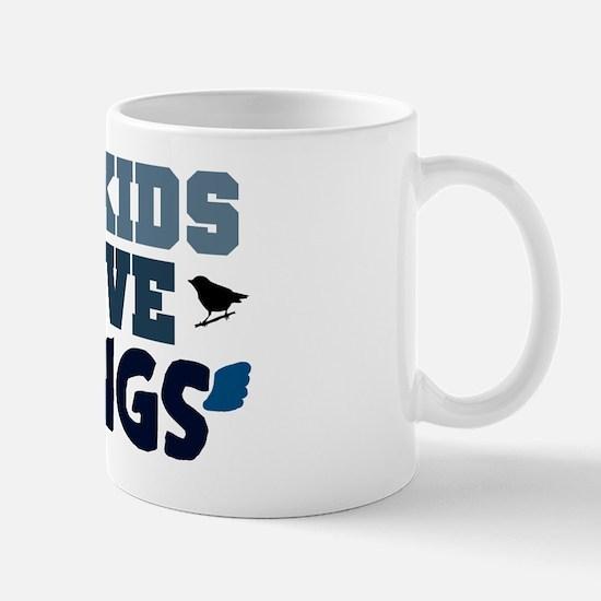 'My Kids Have Wings' Mug