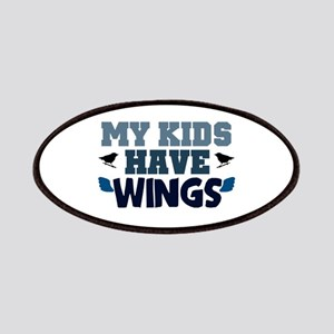 'My Kids Have Wings' Patches
