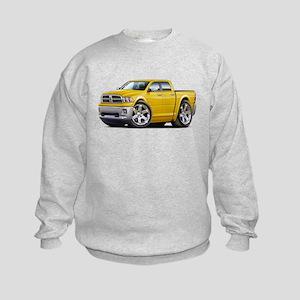 Ram Yellow Dual Cab Kids Sweatshirt