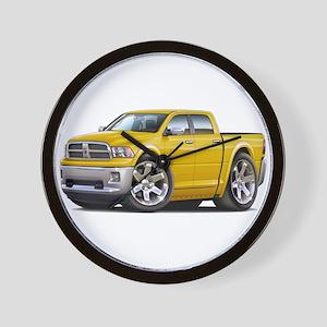 Ram Yellow Dual Cab Wall Clock